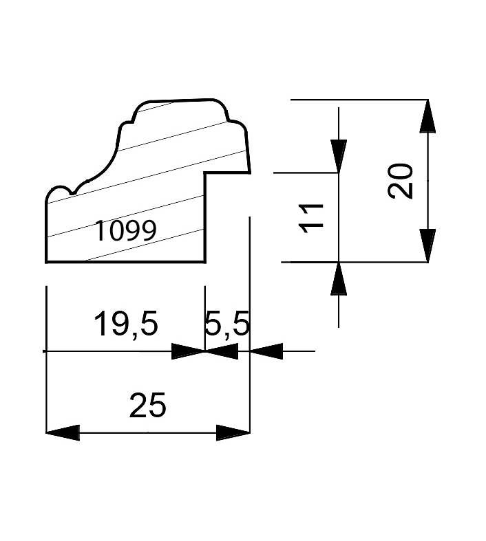 1099 Reverse Moulding