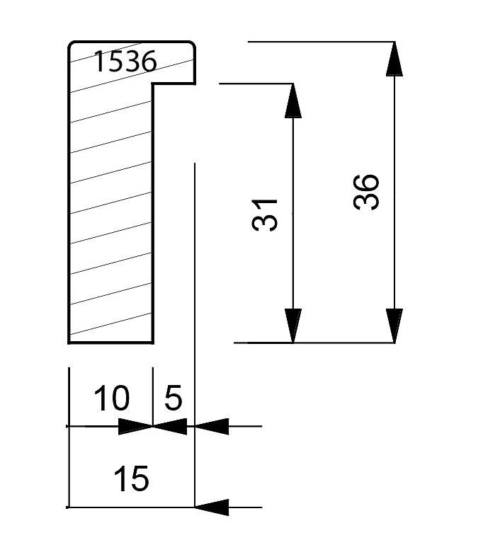 1536 Box Moulding