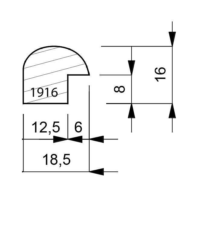 1916-dimensions