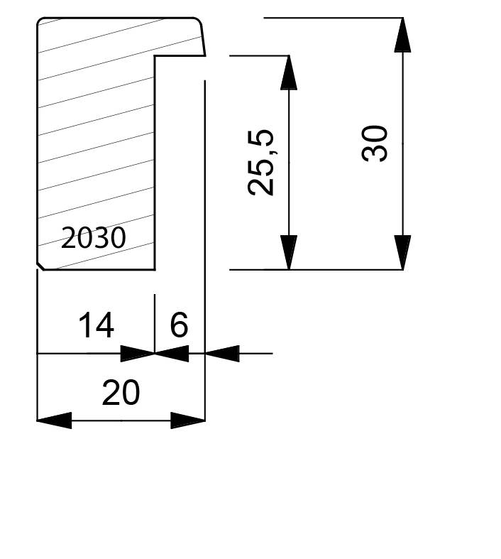 2030 Deep Box Moulding