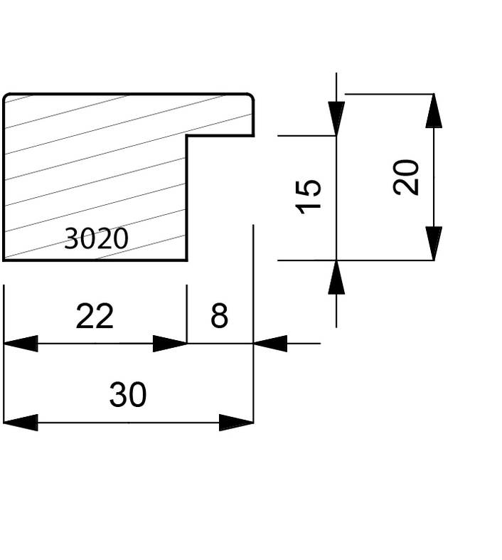 3020 Pattern Moulding
