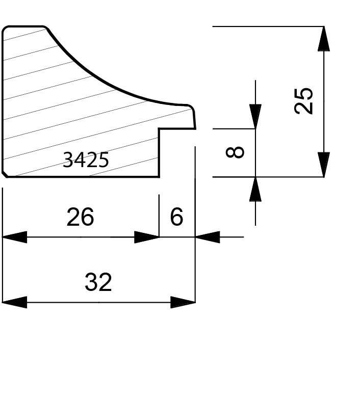 3425-dimensions