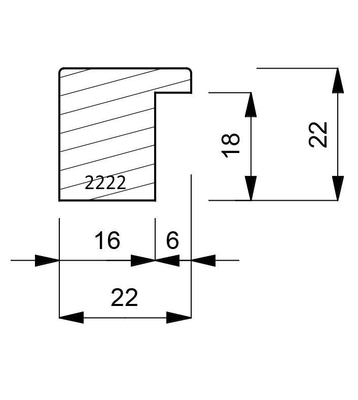 2222-dimensions