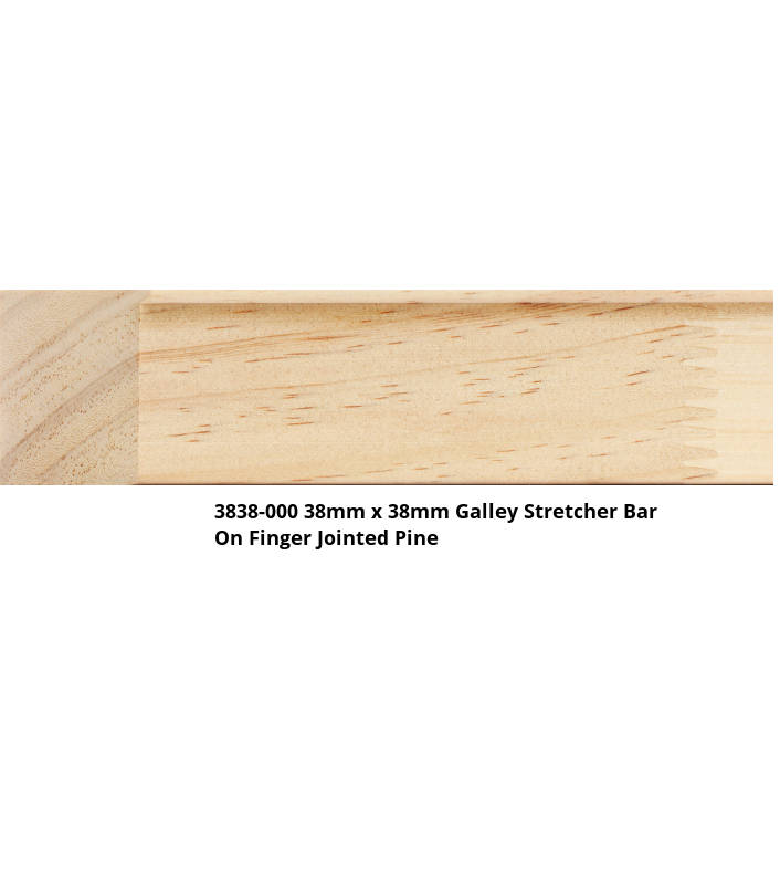 3838 Gallery Stretcher Bar