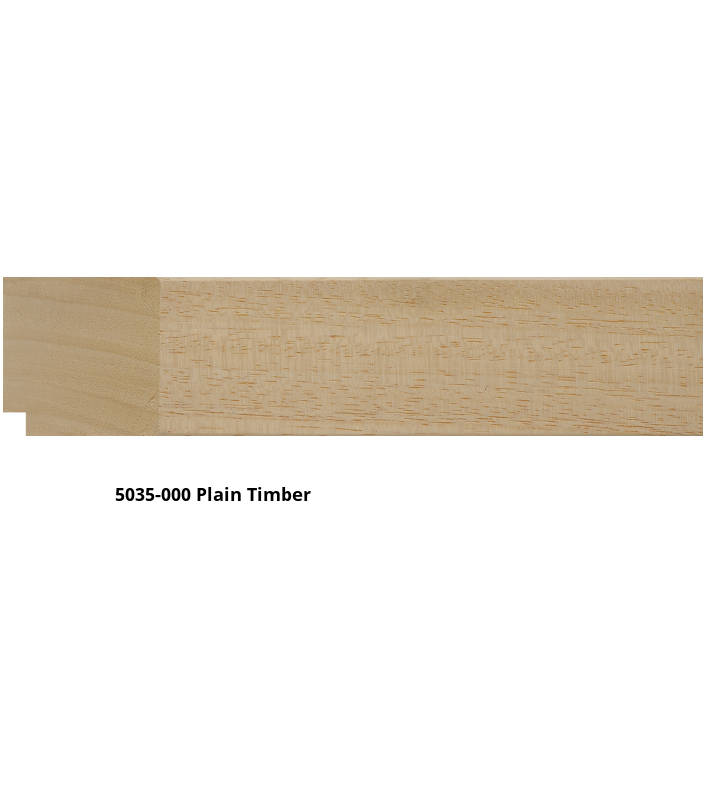5035 Canvas Float Moulding