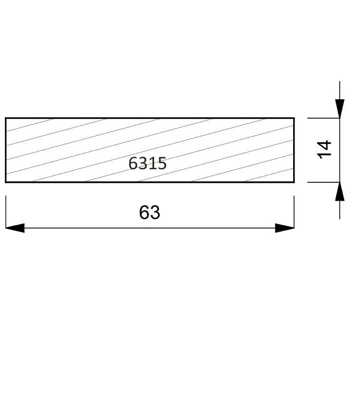 6315 Flat Liner