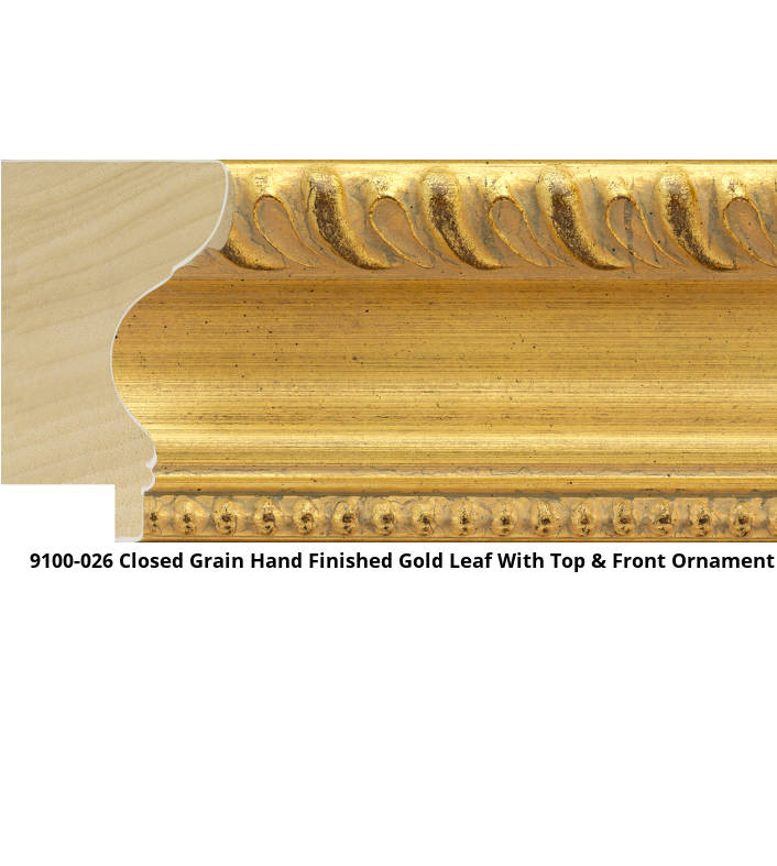 9100 Traditional Roanoke Shape Moulding