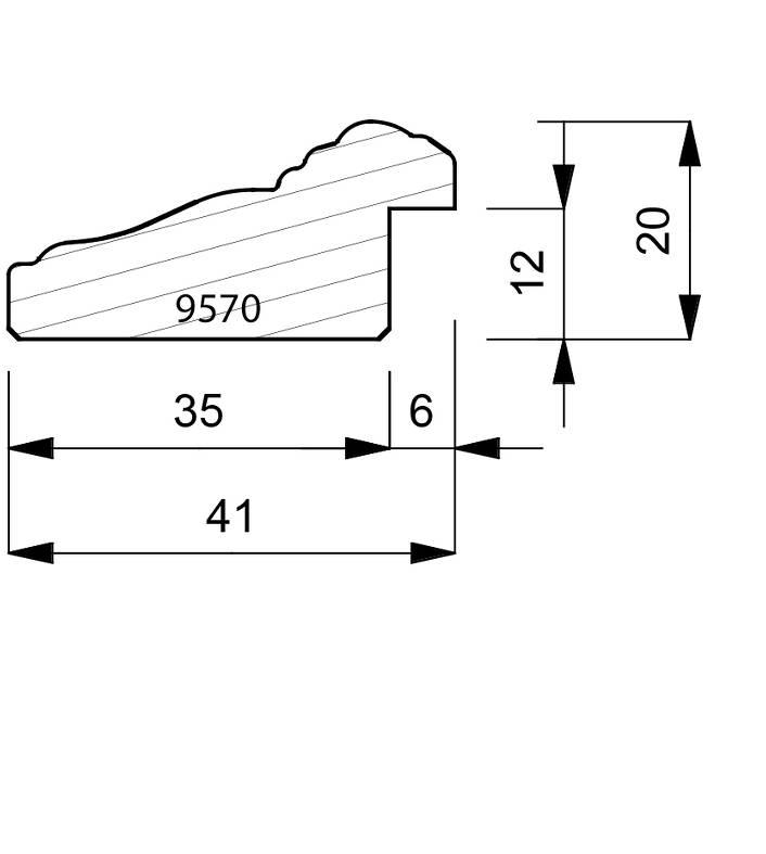 9570 Reverse Moulding