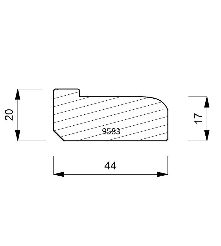9583 Stretcher Bar