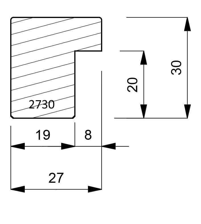 2730 Box Moulding