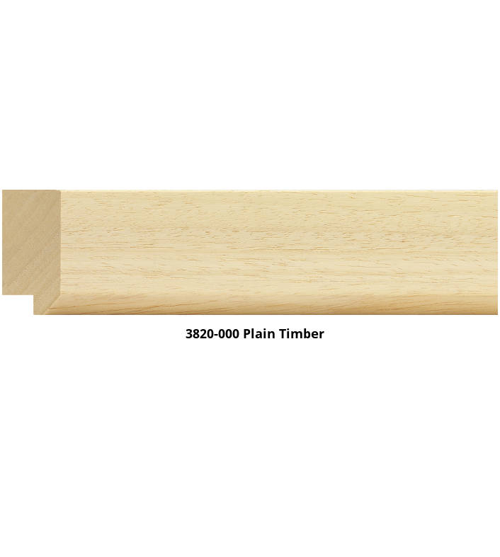3820 Flat Case Moulding