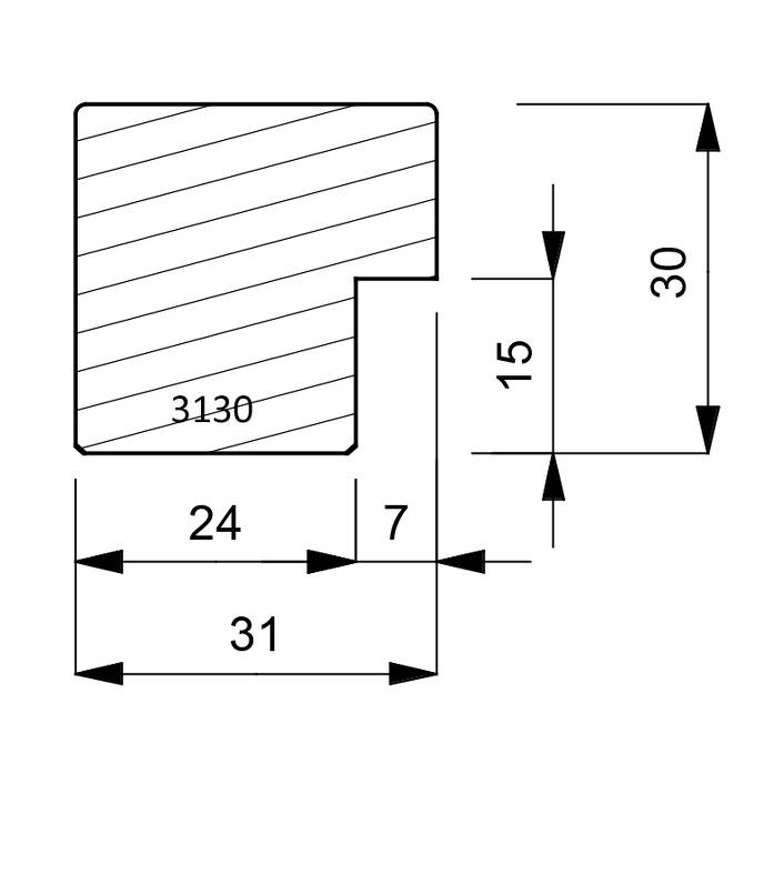 3130 Box Moulding